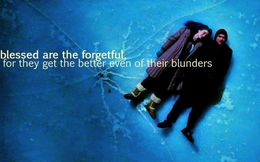 Eternal sunshine of the spotless mind..