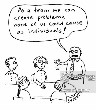 'As a team we can create problems none of us could cause as individuals.'