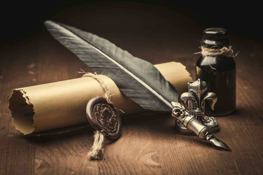 Quill & Papyrus..