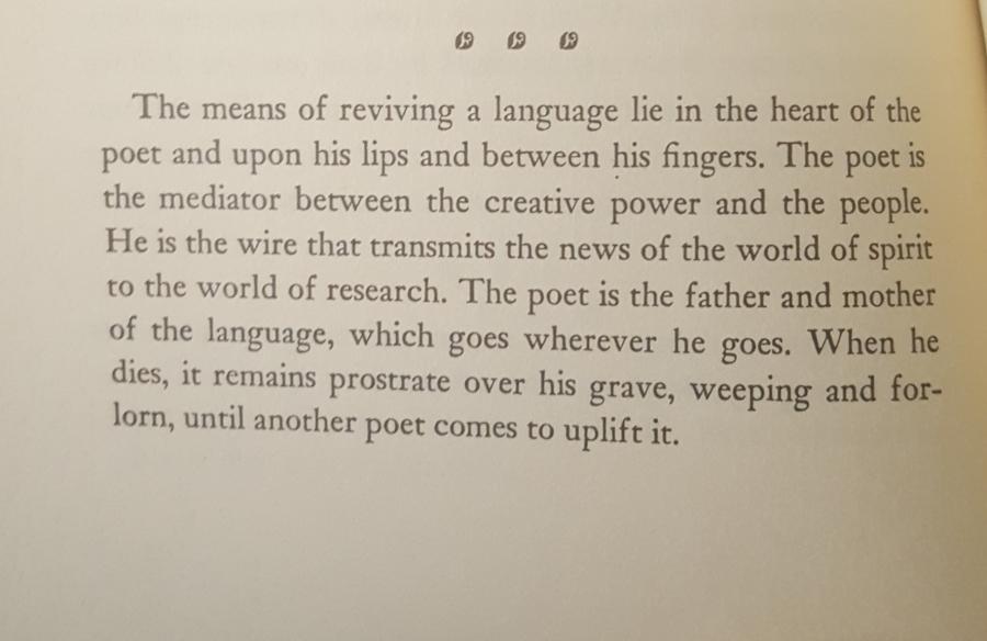 The Poet..