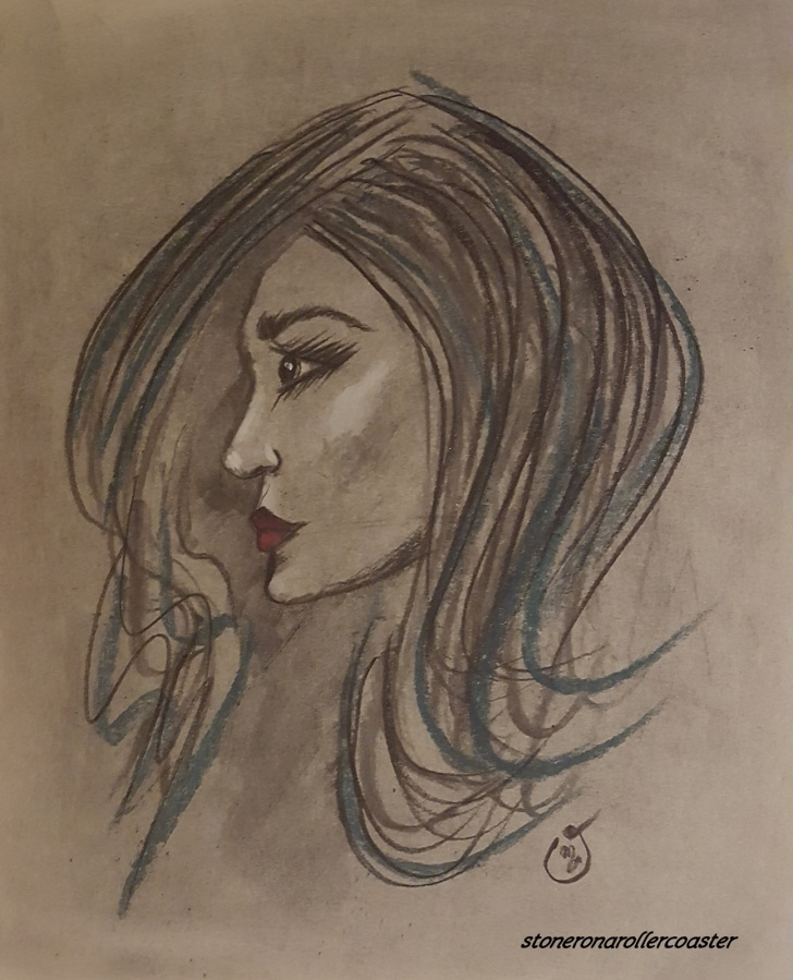 Just sketching..Charcoal &Pastels