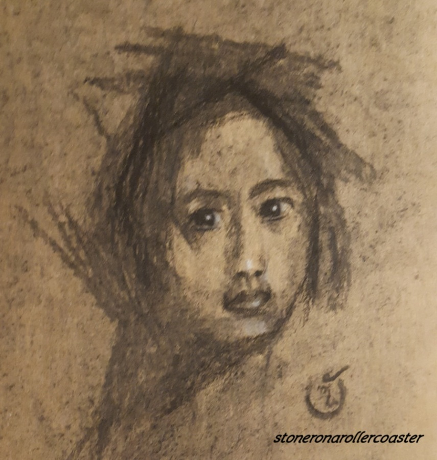 Untitled Again..- Charcoal Sketch