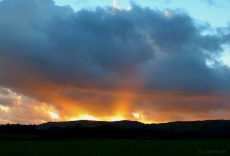 Horizon On Fire#writephoto