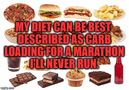 On Food MarathonAgain..
