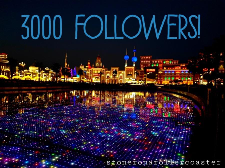 3000 Followers!
